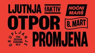 Noćni marševi ZA prava žena u Zagrebu, Rijeci i Splitu