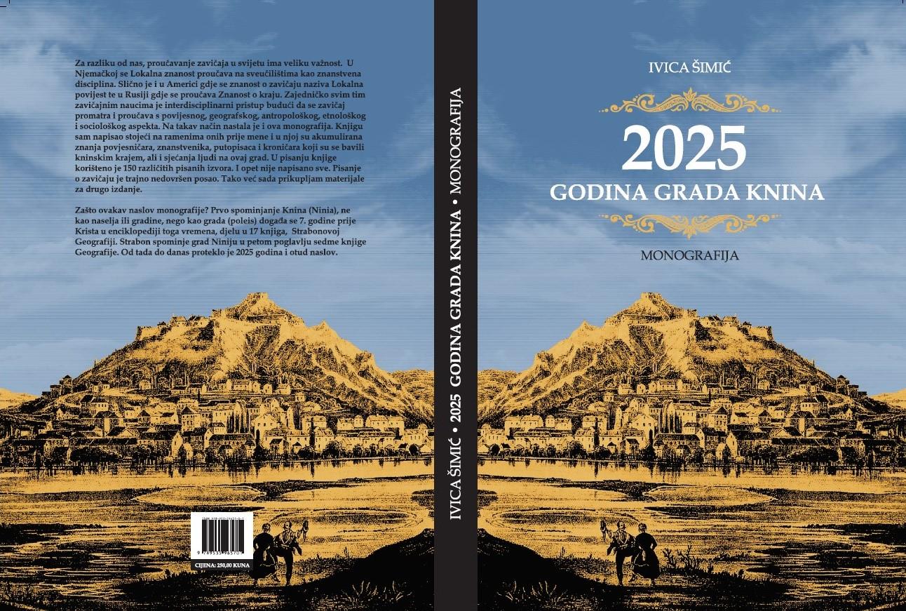 """Promocija monografije """"2025 godina grada Knina"""", autora Ivice Šimića"""