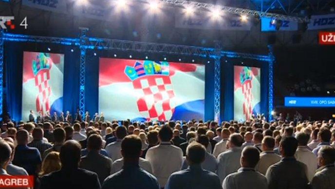 18. sabor HDZ-a, poput kongresa Partije  : Salve hvalospjeva i tek poneka kritika Davora Ive Stiera