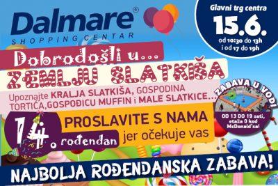 Rođendanski party Dalmarea: Ne brojite godine, neka se godine računaju
