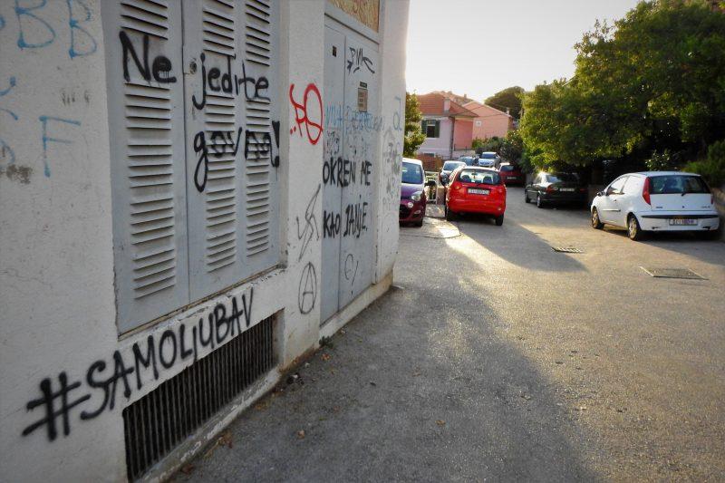 Slijepa Zjačićeva ullica (foto Tris)