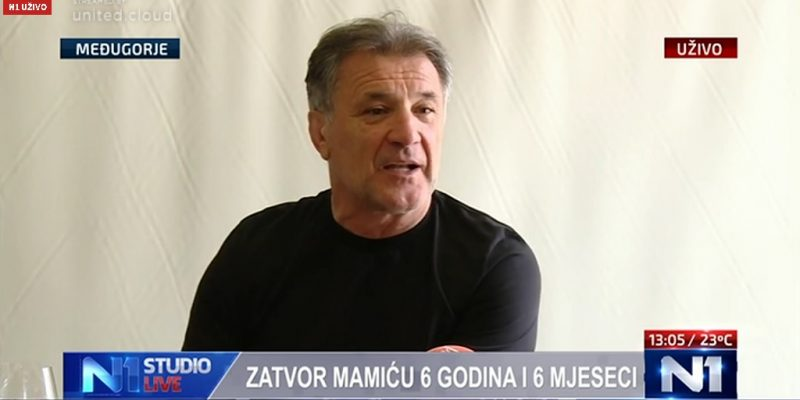 Zdravko Mamić (screenshot/N1)