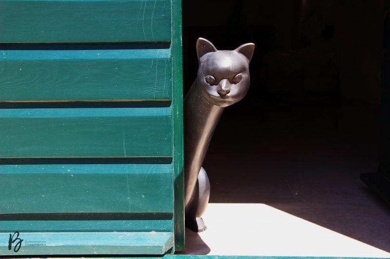 Skulptura mačke - Foto: ©Neven Jović