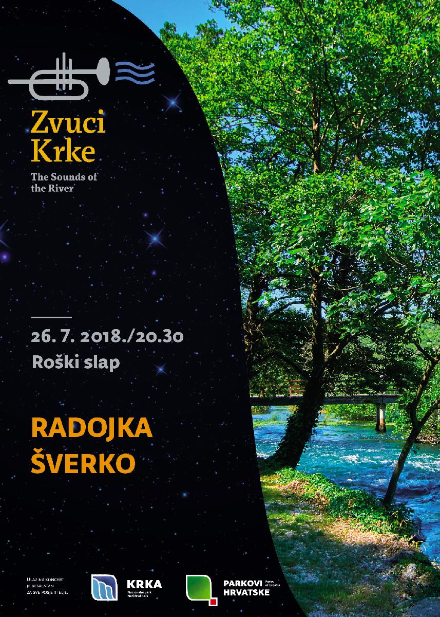 Roški slap: Radojka Šverko uz glazbenu pratnju rijeke Krke