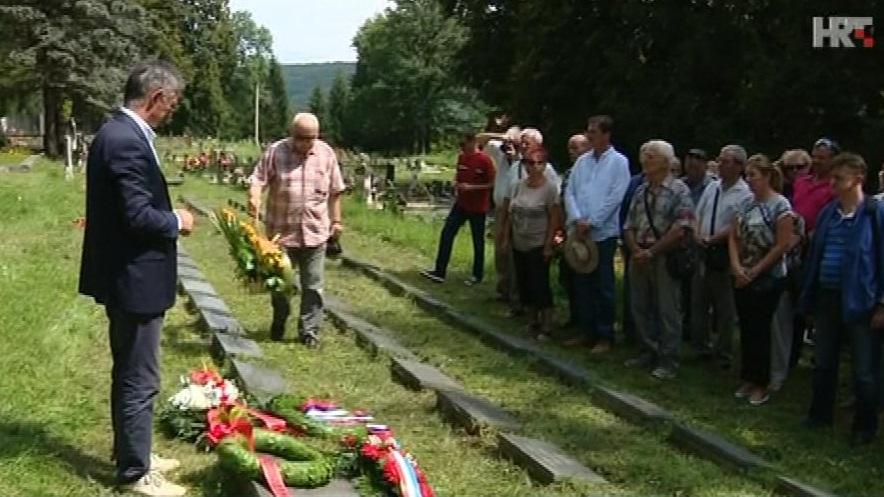 U Srbu obilježen Dan ustanka naroda Hrvatske: Predsjednica zaboravila na Srb i svoj netom otkriveni antifašizam