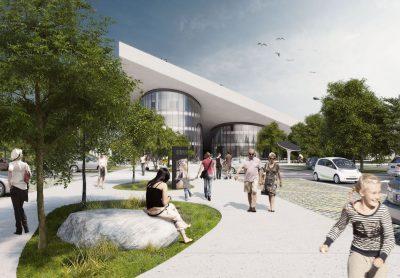 Ovako nekako bi taj Centar trebao izgledati kad bude sagrađen