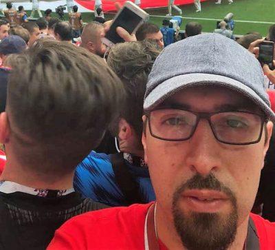 Tomioslav Tomašević za nedavne finalne utakmice u Moskvi (foto Facebook)