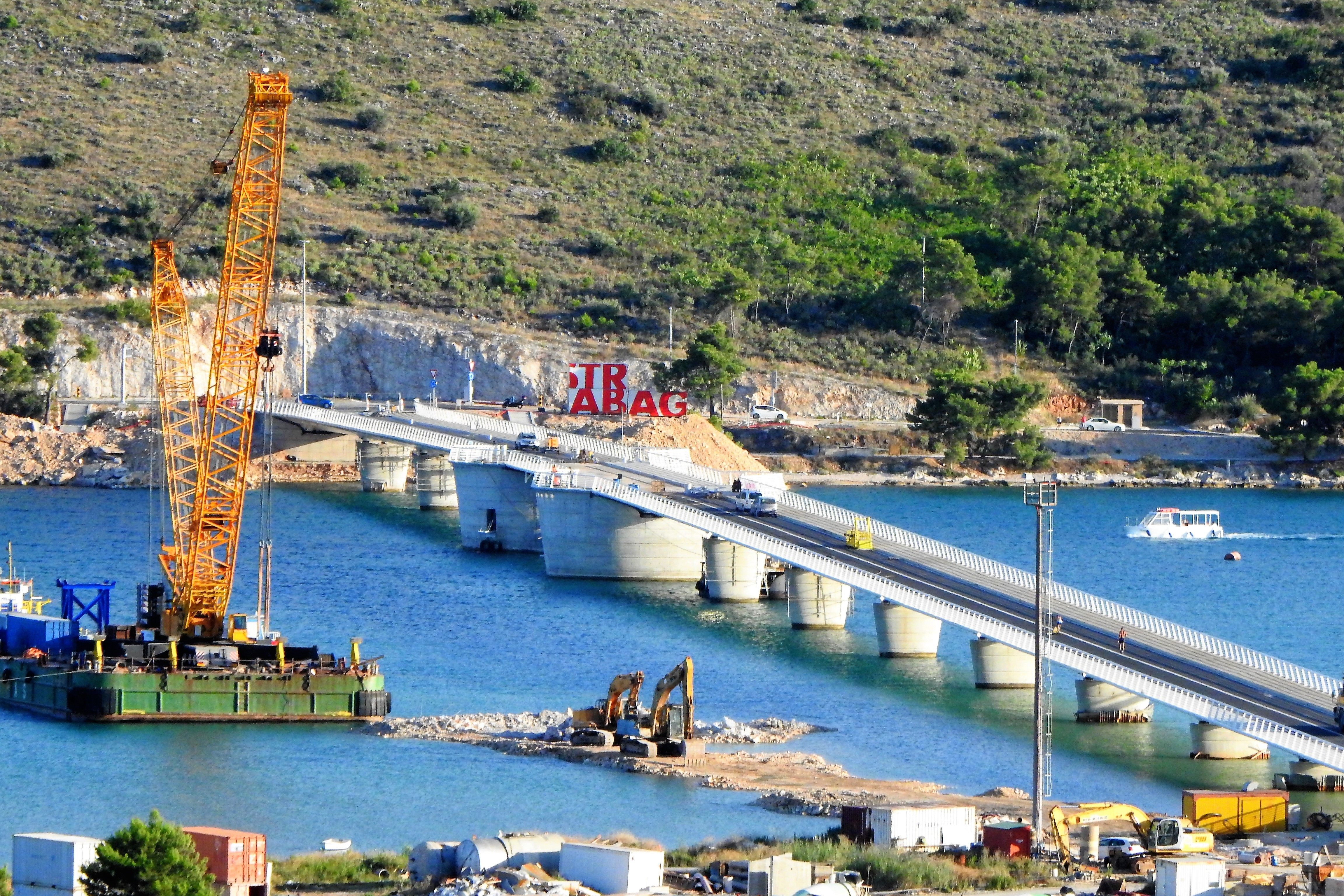 Mostovi okruga Čiovo – O. Butković: Uporabna dozvola sutra ili preksutra