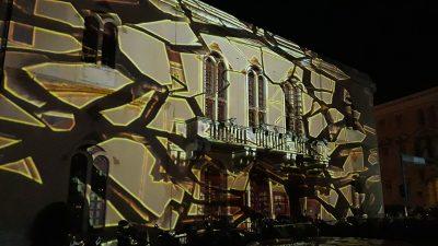 3D mapingom Kazališta otvoren drugi Changer festival u Šibeniku