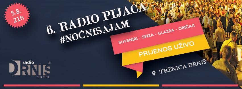 Drniš by night: Radio pijaca – noćni sajam običaja i tradicije