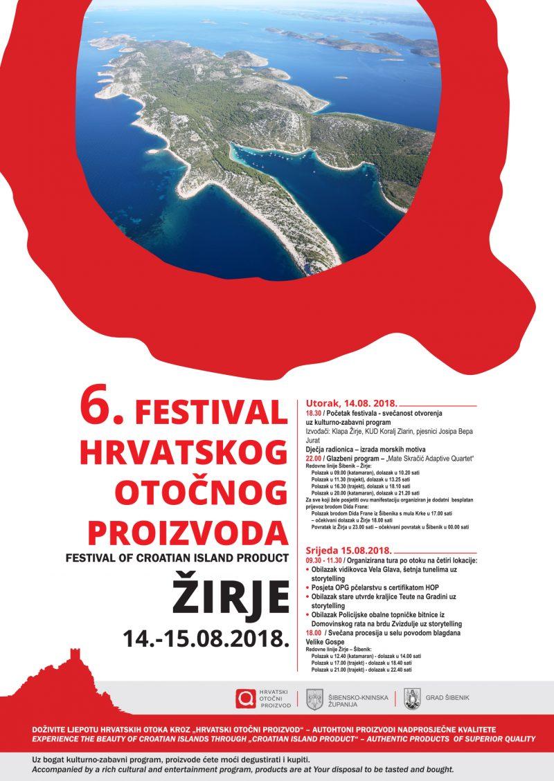 Besplatan prijevoz: Festival HOP u Šibensko-kninskoj županiji na otokuŽirju