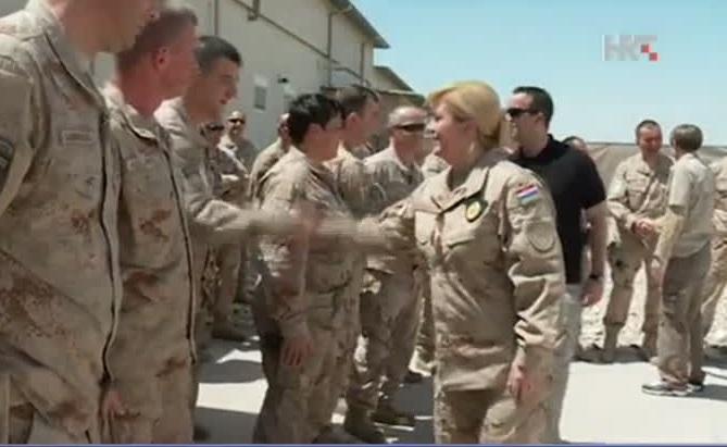 Predsjednica u Afganistanu, na prvoj crti obrane: Ovdje se štiti naše mlade od opijata…