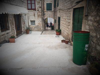 Ul. Horazzija Fortezze u Šibeniku (foto TRIS/G. Šimac)