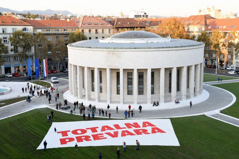 Ogoljen, sterilan i bez duše: Trg žrtava fašizma bez ijedne klupe i šarena svjetla uvreda su i Meštroviću i svim građanima Zagreba