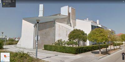 Crkva u Zadru s ugrađenim 'antenama' za bolji signal vjernicima (foto Google Streetview)