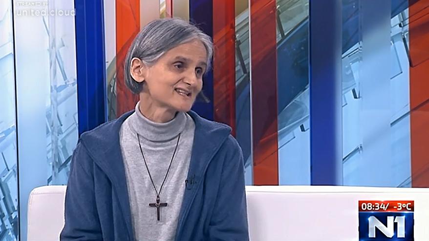 Redovnica Vesna Zovkić na N1: Isus je kao dijete bio izbjeglica… a kakav je naš odnos prema Isusu koji je oko nas?