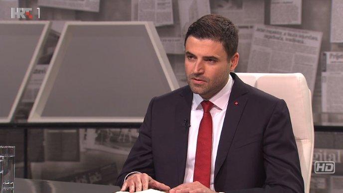 """Davor Bernardić u HRT-ovoj emisiji Nu2: """"Ne možemo mi toliko stvoriti, koliko HDZ može pokrasti"""""""
