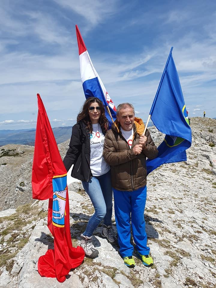 Bandić na vrhu Hrvatske s (kninskim) prijateljima