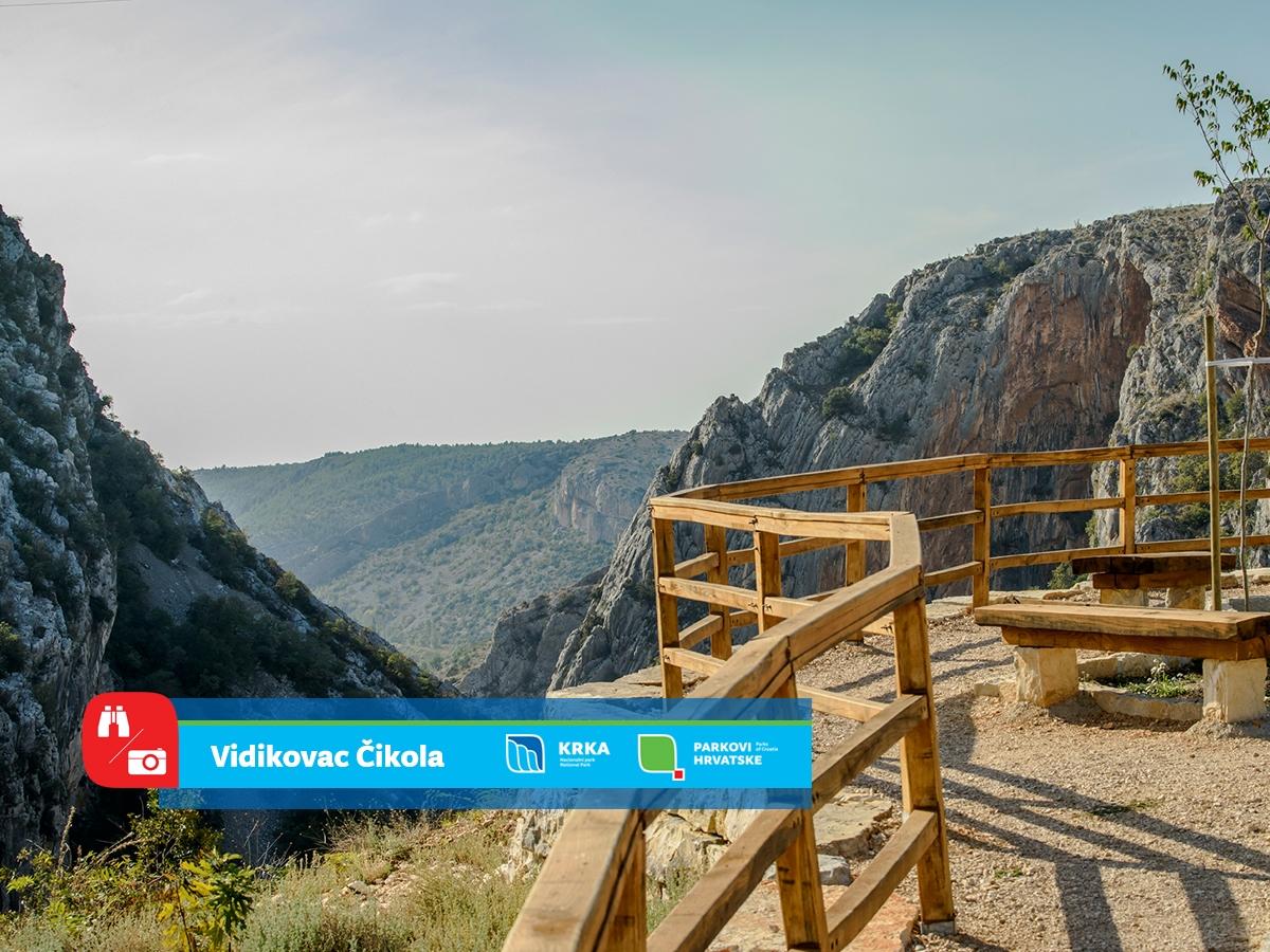 Iz NP Krka pozivaju posjetitelje na nove vidikovce: Uhvatite pogledom raskošnu ljepotu kanjona Čikole