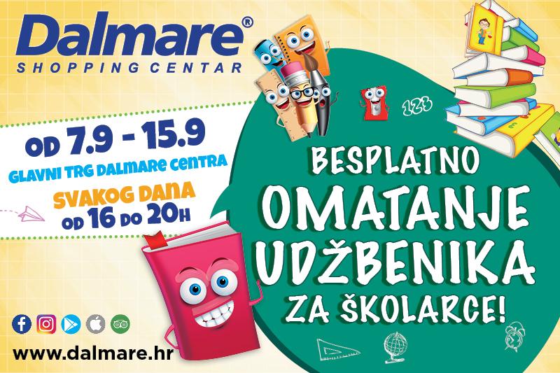Dalmare: Besplatno omatanje udžbenika