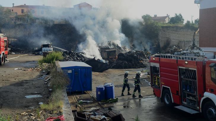 """Požar na odlagalištu Metis u Puli: """"Odgovorno"""" gospodarenje otpadom…"""