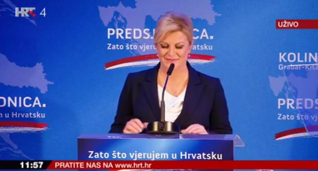 Kolinda Grabar Kitarović objavila kandidaturu za novih pet godina na Pantovčaku: Spremna za pobjedu.  I (staru ) pjesmu…