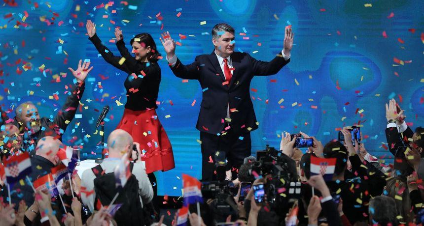 Izabrani predsjednik Republike Zoran Milanović u intervjuu za Novu TV: Neću biti destruktivan, neću vladi nabijati rogove…