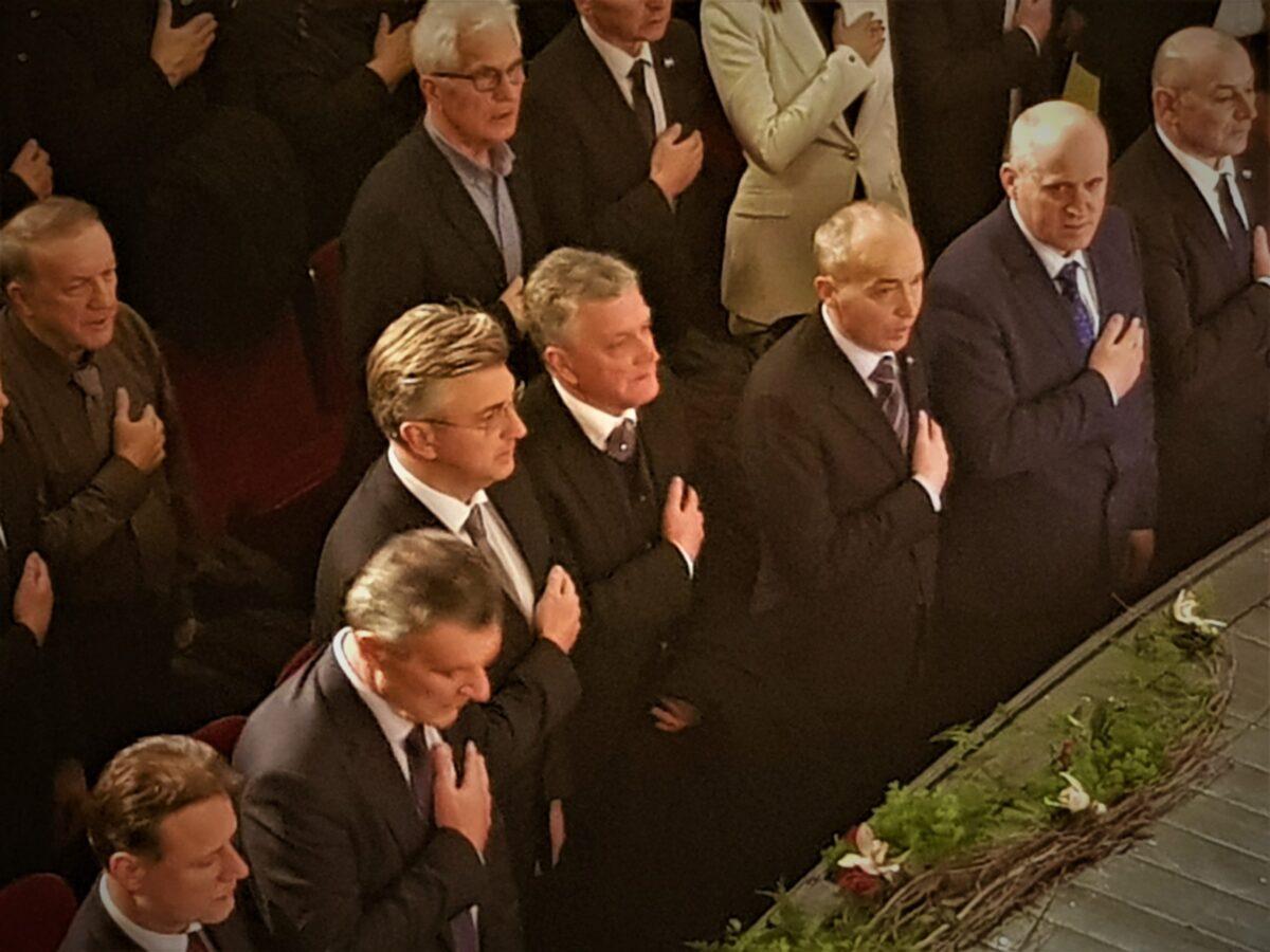 Andrej Plenković na proslavi 30-te obljetnice HDZ-a u Šibeniku: Bitno je da u ovom nadmetanju programa i argumenata ostanemo na razini korektne političke komunikacije, jer svi smo dio iste političke obitelji…