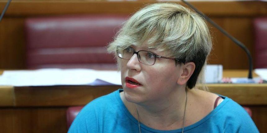 SDP-ovka Karolina Leaković, na facebooku, Bernardićev ispad nazvala sramotnim!