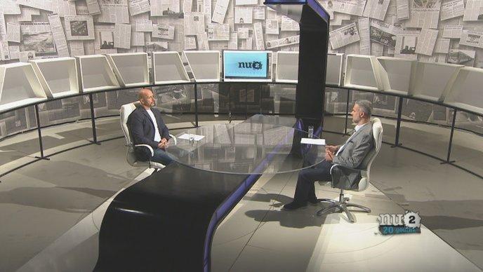 Nino Raspudić u HRT-ovoj emisiji Nedjeljom u 2: Idem na izbore kao nezavisni, na listi Mosta, a Andrej Plenković neće dobiti moju ruku!