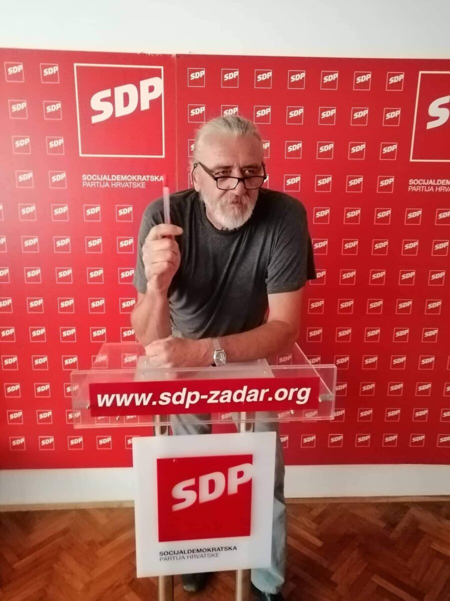 Duško Polovina Lungo najavio kandidaturu za šefa SDP-a: Neću da mediji kadroviraju u stranci !