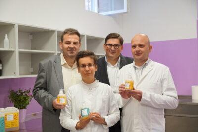 Goran Denis Tomašković, Barbara-Šajinovic, Danijel Koletić i Dario Vulja (foto USZ/Apriori World)