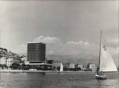 Hotel Marjan iz nekih drugih prošlih vremena (foto Facebook Kaštelanski memento)