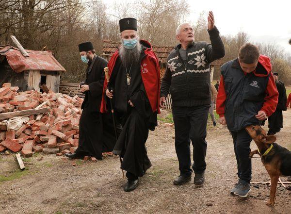 Patrijarh Porfirije na Baniji: Računajte na nas…