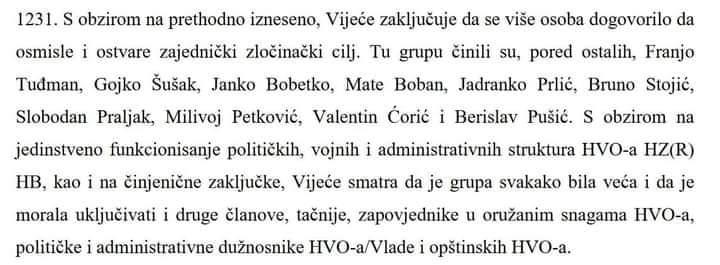 Katarina Peović, zastupnica RF-a o imenovanju Sveučilišta za obranu i sigurnost po Franji Tuđmanu: Tuđman je u presudi Haaškog suda Prliću i drugima naveden kao sudionik udruženog zločinačkog poduhvata…