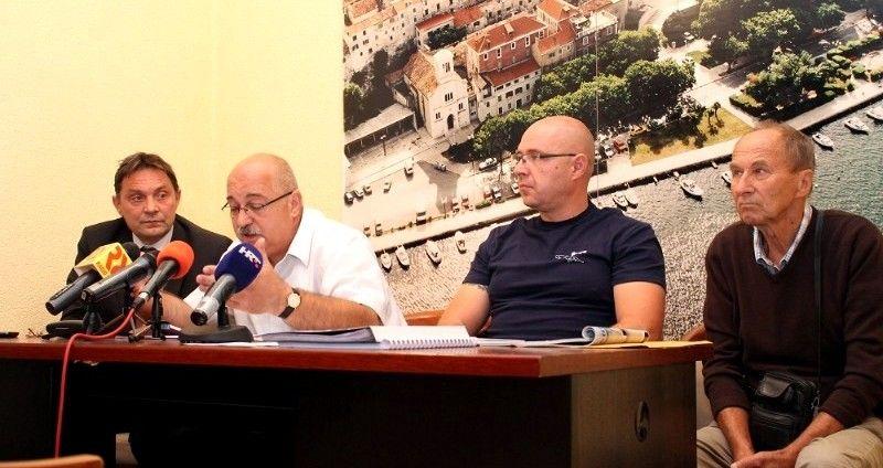 Vladimir Buneta, Goran Grguričin, Anton Dobra i Dinko Jelovčić