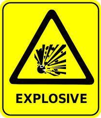 oprez eksploziv