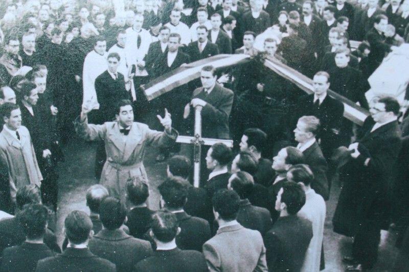 Politički govor na pogrebu petorice primoštenskih mučenika