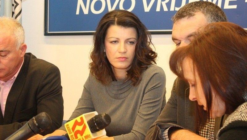 Gradonačelnica Knina i članica Predsjedništva HDZ-a Josipa Rimac (1)