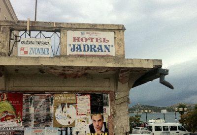 Nekadašnji čuveni Hotel Krka danas, slika govori sve