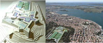 Na šibenskoj utvrdi sv. Ivana atrakcije: zeleni labirint, igračke koje proizvode energiju, zračni tramvaj…