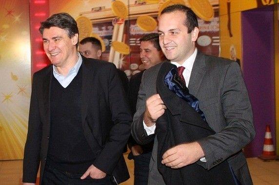 Ivan Klarin s premijerom Zoranom Milanovićem  - Foto Hrvoslav Pavić