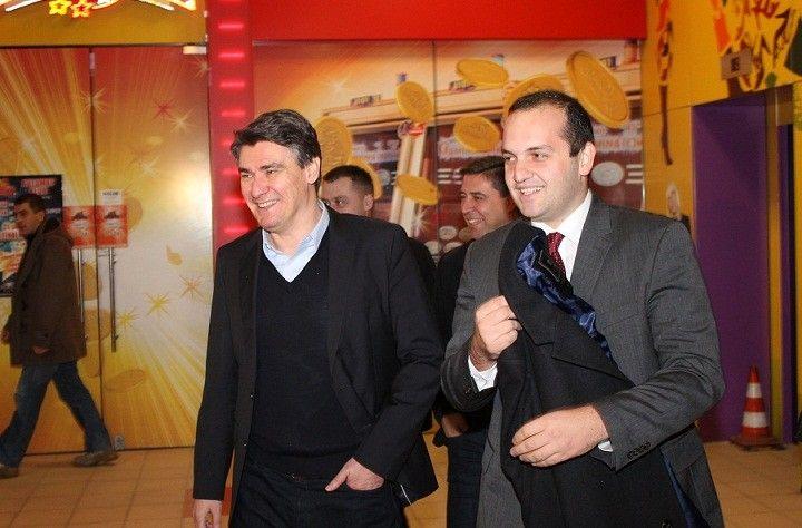 Zoran Milanović i Ivan Klarin