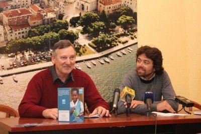 Organizatori koncerta Edo Juraga i Mate Skračić (Foto: Hrvoslav Pavić)