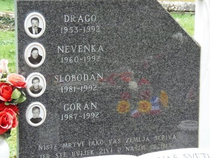 Nadgobna ploča obitelji Čengić (Foto Grad Benkovac)