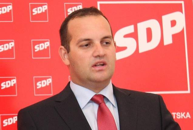 Saborski zastupnik i predsjednik ŽO SDP-a Ivan Klarin