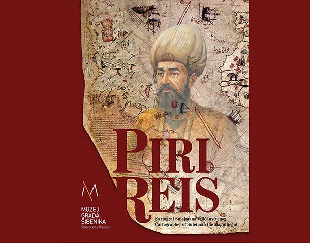 Piri Reis plakat - Ante Filipović Grčić