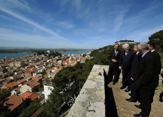 Predsjednik Josipović za nedavnog posjeta tvrđavi Barone