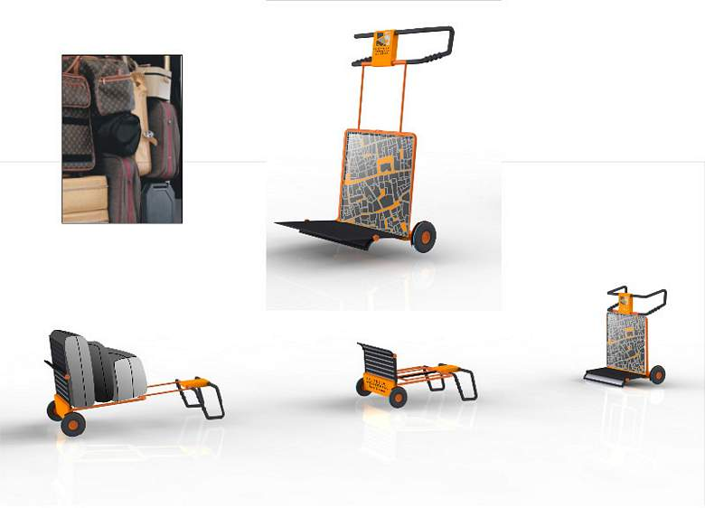 Ovaku su zamišljena kolica za 'kufere' gostiju RHŠ-a