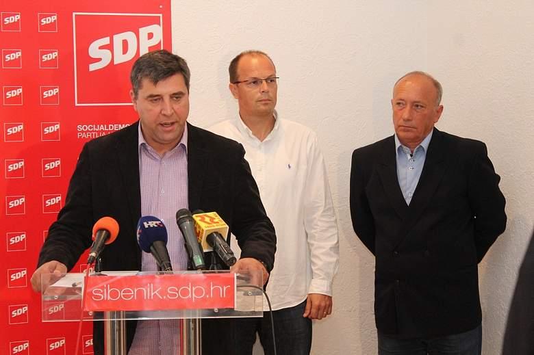 Konferencija za novinare SDP-a - Vidović-Šupe-Rajić(Foto H. Pavić) (9)